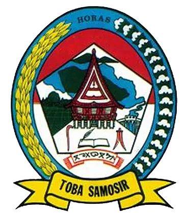 Toba Samosir Regency Arms Of Toba Samosir Regency Coat Of Arms Crest