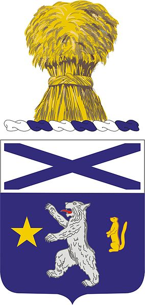 Arms of 136th Infantry Regiment, Minnesota Army National Guard