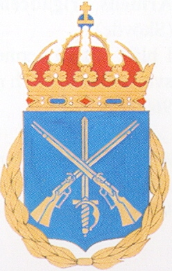 Coat of arms (crest) of the Infantry and Cavalry Officers Academy, Swedish Army