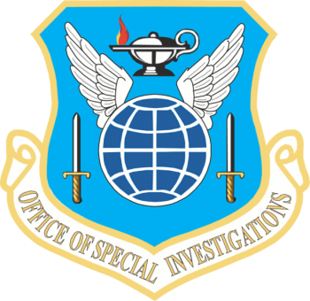 Coat of arms (crest) of the Office of Special Investigations, US Air Force