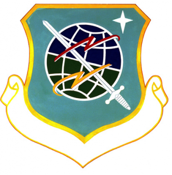Coat of arms (crest) of the 1974th Teleprocessing Group, US Air Force