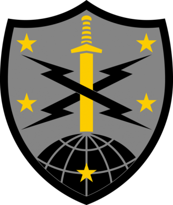 Arms of 91st Cyber Brigade, US Army