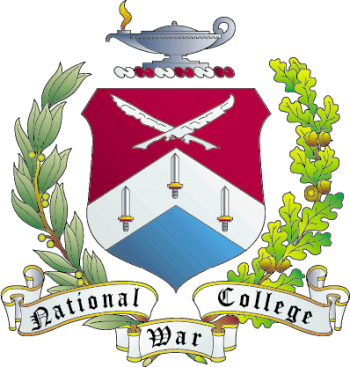 Coat of arms (crest) of the National War College, US