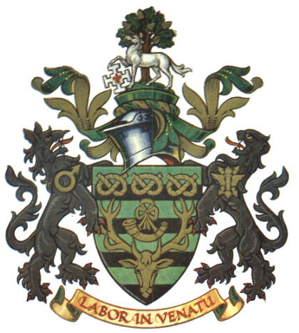 Arms (crest) of Cannock Chase