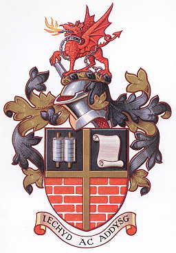 Arms (crest) of Ebbw Vale