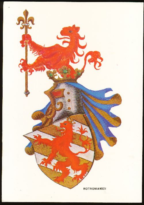 File:Kotromanici pchr jpg - Heraldry of the World