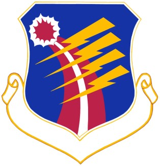 Coat of arms (crest) of the 40th Air Division, US Air Force