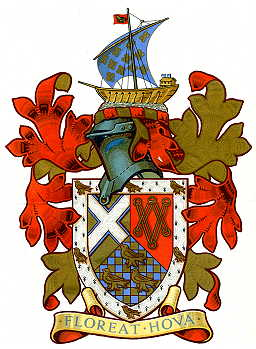 Arms (crest) of Hove (Brighton and Hove)