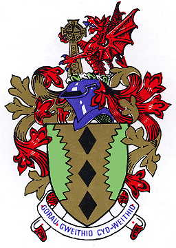 Arms (crest) of Maesteg