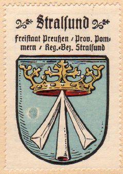 Stralsund Wappen
