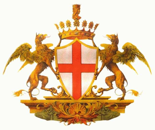 genova stemma di genova coat of arms crest of genova