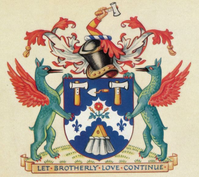 Arms of Worshipful Company of Plaisterers