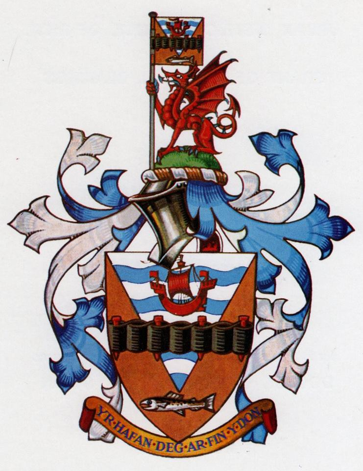 Arms (crest) of Rhyl