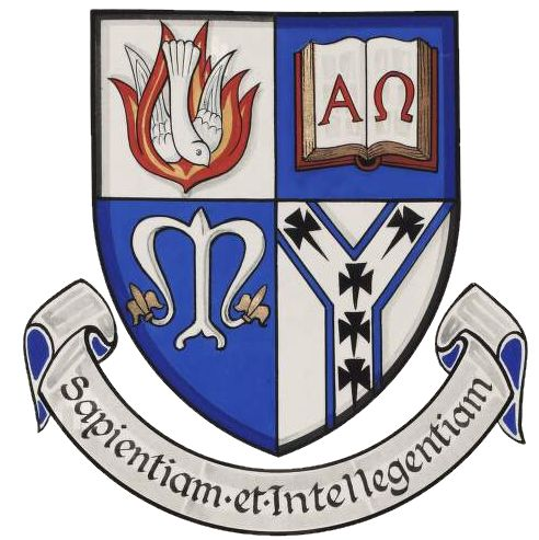 Arms of Mater Dei Institute of Education