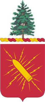 Coat of arms (crest) of the 152nd Field Artillery Regiment, Maine Army National Guard
