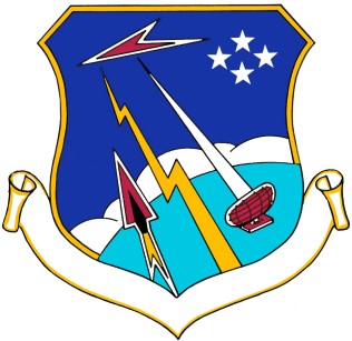 Coat of arms (crest) of the 29th Air Division, US Air Force