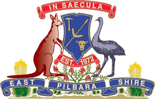Arms (crest) of East Pilbara