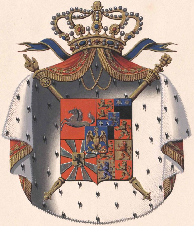 Wappen von Kingdom of Westfalen