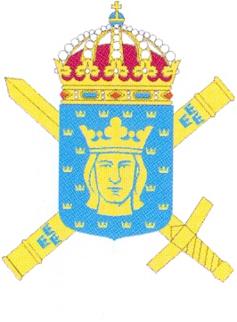 Coat of arms (crest) of the Supreme Commandant of Stockholm, Sweden