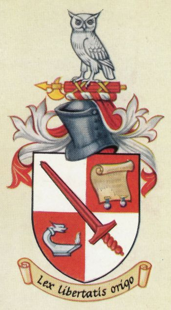 City of London Solicitors' Company - Coat of arms (crest) of