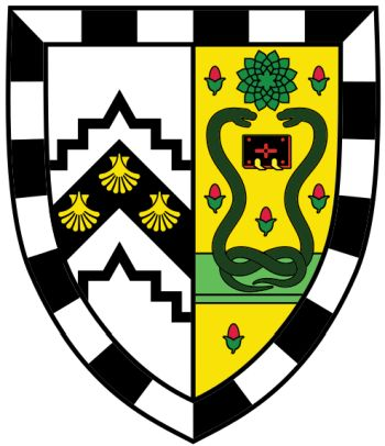 Arms (crest) of Gonville & Caius College (Cambridge University)