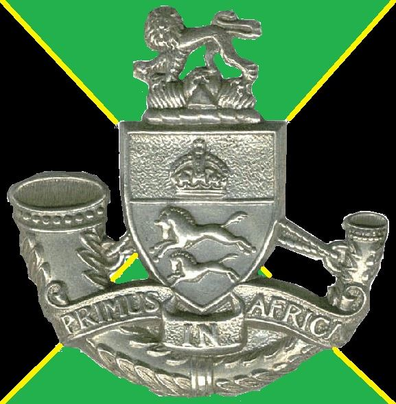 Coat of arms (crest) of the Durban Light Infantry, South African Army