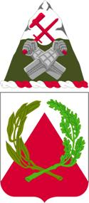 Arms of 41st Engineer Battalion, US Army