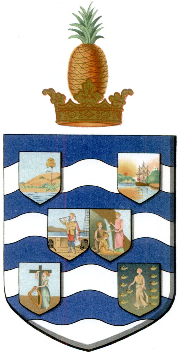 Arms of the Leeward Islands