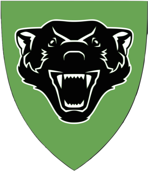 Coat of arms (crest) of the Assault Squadron 4, Armoured Battalion, Norwegian Army