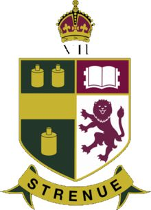 Arms (crest) of King Edward VII School