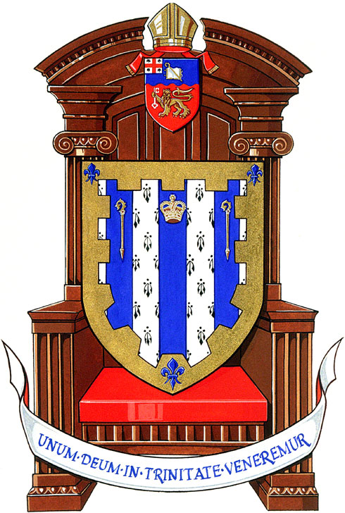 Arms (crest) of Cathedral of the Holy Trinity, Quebec
