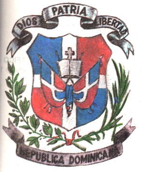 National Arms of the Dominican Republic  Heraldry of the World