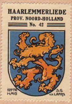 Haarlemmerliede en Spaarnwoude - Wapen van Haarlemmerliede ...