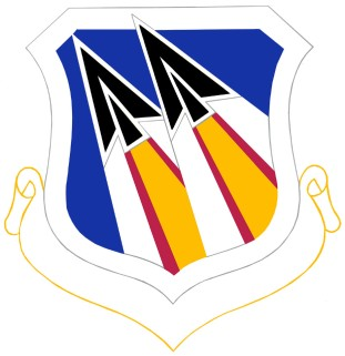 Coat of arms (crest) of the 73rd Air Division, US Air Force