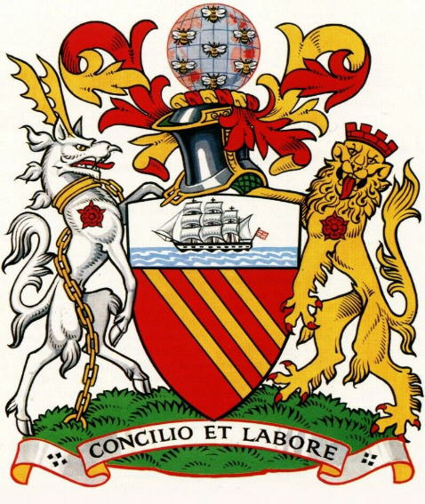 Manchester - Coat of arms (crest) of Manchester