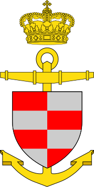 Coat of arms (crest) of the Fast Missile Boat Bille (P540), Danish Navy