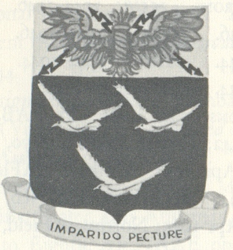 Coat of arms (crest) of the 331st Bombardment Group, USAAF