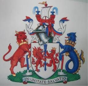 Arms of Devon and Cornwall Fire Service
