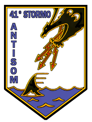 Coat of arms (crest) of the 41st Wing Athos Ammannato, Italian Air Force