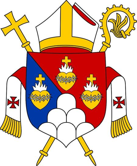 Arms (crest) of Diocese of Alotau-Sideia