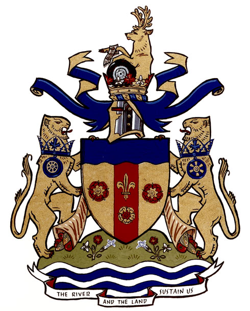 Arms (crest) of Windsor (Ontario)