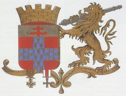 Wapen van Ieper - Armoiries d'Ypres - Coat of arms of Ypres