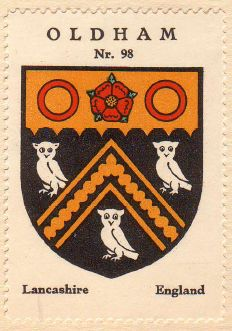 Arms of Oldham