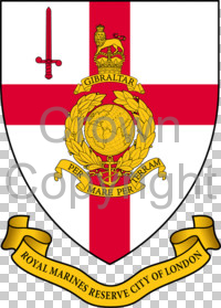 Arms of Royal Marines Reserve London