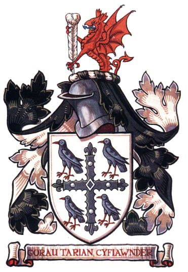 Arms (crest) of Flintshire