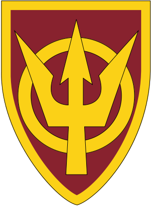 Arms of 4th Transportation Command, US Army