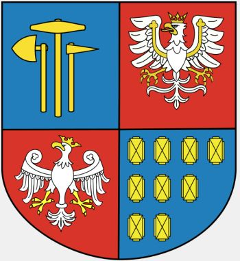 Arms (crest) of Bochnia (county)