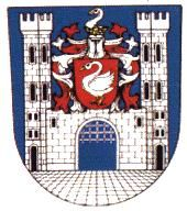 Arms (crest) of Bor (Tachov)