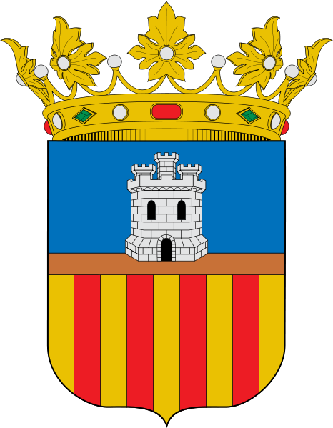 Arms (crest) of Castellón (province)