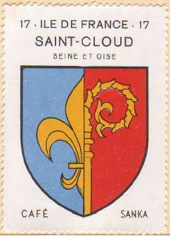 Blason de Saint-Cloud